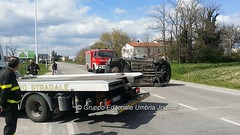 Incidente in via Hochberg a Bastia Umbra (33) (bastiaoggi) Tags: bastia incidente umbra