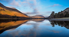Buttermere panorama 3 (alf.branch) Tags: lake reflection water clouds landscape lakes lakedistrict olympus cumbria buttermere refelections westcumbria cumbrialakedistrict