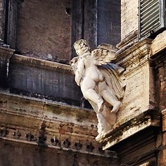 angel #statue #marble #building #city #beauty... (joyaofchiba) Tags: city italy rome building beauty statue angel marble eternal streetsofrome uploaded:by=flickstagram instagram:photo=1057767687352282109399195313 instagram:venuename=santabrigida instagram:venue=593060861