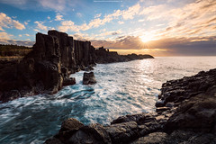 Seascape Mornings (Attakorn_Bk) Tags: morning sea seascape rock horizontal landscape outdoors photography tide sydney wave australia coastal bombo
