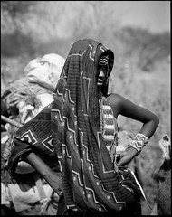 Issa woman (nahlinse) Tags: portrait people film mediumformat iso100 fuji iso tribes neopan 100 ethiopia issa acros fujineopanacros100 film:brand=fuji film:iso=100 developer:brand=adox film:name=fujineopanacros100 adoxadonal developer:name=adoxadonal filmdev:recipe=9369