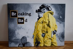 BB02 (popcomic.shop) Tags: art painting poster paintings pop canvas popart breaking heisenberg mrwhite breakingbad popcomicshop
