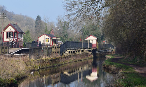 Consall Station from towpath