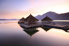 Morning Reflection (Pandu Adnyana Photography Tour) Tags: travel bali lake reflections indonesia landscape tour guide batur balitravelphotography baliphotographytour baliphotographyguide balilandscapephotography