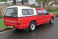 Mitsubishi Triton MJ Dual Cab Ute (jeremyg3030) Tags: cab mj utility pickup ute dual mitsubishi triton
