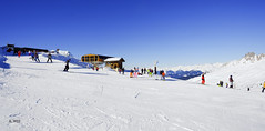 Top of Plan des Mains (A. Wee) Tags: france alps meribel chairlift  troisvalles les3valles plandesmains