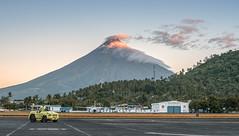 Bulkang Mayon (LorenzMao) Tags: clouds plane airport nikon philippines hangar d750 coconuttree bicol mtmayon legazpi albay region5 mayonvolcano legazpicity legazpiairport bicolregion bulkangmayon nikond750
