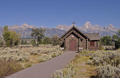 USA - Wyoming - Grand Teton NP - Chapel of the Transfiguration (Harshil.Shah) Tags: park usa america nps united grand chapel national states wyoming teton transfiguration wy chapelofthetransfiguration