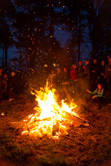 Bonfire (fredrik.gattan) Tags: people fire sweden stockholm bonfire liding valborg storholmen