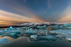 Dawning (Marshall Ward) Tags: ice sunrise landscape dawn iceland southcoast jkulsrln glaciallake nikond800 afszoomnikkor2470mmf28ged marshallward