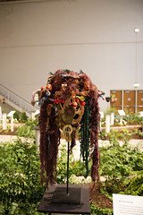 chicago flower and garden show. march 2015 (timp37) Tags: show africa inspiration chicago west flower garden march pier illinois mask navy 2015