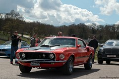 Ford Mustang Mach 1 ({House} Photography) Tags: uk sky ford car clouds race tin one 1 kent muscle automotive racing american hatch mustang circuit tops brands motorsport mach saloons quaife housephotography timothyhouse