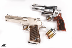 Hand Cannons (10 Gauge) Tags: guns pistols firearms handguns deserteagle smithwesson handcannon