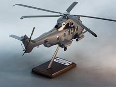 Airbus Helicopter H225 Caracal - scala 1.40-3 (Maurizio Piazzai) Tags: models caracal eurocopter madeinitaly superpuma artigianato modellino piazzaimodels airbushelicopters multimissionhelicopter h225m scala140