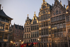 Antwerp - Town (Kotomi_) Tags: street city light evening town lowlight antwerp townscape antwerpen grotemarkt streetview