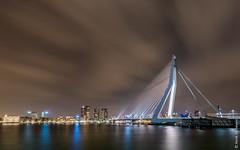 Rotterdam - Erasmus bridge (Henk Verheyen) Tags: city bridge water netherlands architecture outside rotterdam cityscape nederland brug stad buiten architectuur erasmusbrug stadsgezicht