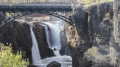 Great Paterson Falls from park southern platform (Mikeinwayne...On and off...) Tags: nature water waterfall newjersey nj paterson greatfallsnationalpark passaiccounty patersongreatfalls