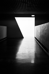 Untitled (Rui  Pereira) Tags: light lines architecture triangles reflections graphics shadows angle geometry lisbon shapes symmetry sharp diagonal negative forms arrow alignment museudoscoches
