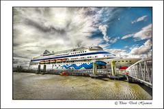 AIDA CARA. (Derek Hyamson) Tags: liverpool waterfront hdr liner aidacara
