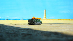 Matchbox Toys MBX HEROIC RESCUE Attack Track 2015 : Diorama The Beach And Lighthouse - 12 Of 25 (Kelvin64) Tags: rescue lighthouse beach toys track attack and diorama heroic matchbox the 2015 mbx