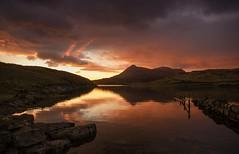 Assynt Moods (Captain Nikon) Tags: reflections scotland stonewall loch sutherland moods freshwater grandtour lochassynt inchnadamph nikond7000 nc500