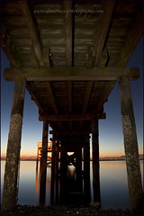 Crescent Beach 008 BC web (DAMON WEST www.damonwestphotography.com) Tags: sunset canada beach vancouver pier bc metro britishcolumbia crescentbeach whiterock greatervancouver insidevancouver vancitybuzz viawesome