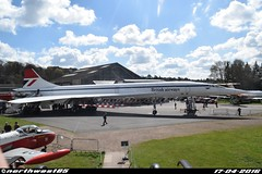 G-BBDG (northwest85) Tags: museum aircraft corporation concorde british 100 bac brooklands gbbdg arospatiale