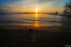 Lago Trasimeno-Umbria- (Danilo Agnaioli) Tags: lago tramonto paesaggi umbria trasimeno