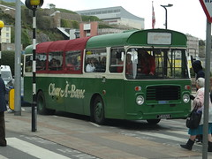 The Green machine! (Coco the Jerzee Busman) Tags: uk bus islands coach jersey char tours channel banc