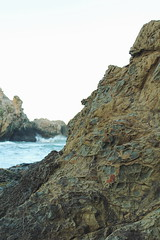 Texture (sweet.disposition) Tags: ocean california sea texture rocks tide bigsur naturalart pfeifferbeach