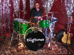 The Dogtones Drummer (jiff89) Tags: seattle music classic rock bar drums dance live april drummer kit lynnwood cliffhanger 2016 dogtones