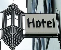 Chur (micky the pixel) Tags: sign hotel schweiz switzerland schild chur erker typografie schmiedearbeit nasenschild freieck
