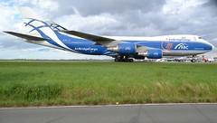 VP-BIK, Boeing 747-46NF(FR), 35421-1400, AirBridgeCargo, patch 25 years, CDG/LFPG, 2016-04-20 (alaindurandpatrick) Tags: boeing airports airlines boeing747 747 freighters 747400 cdg 25years boeing747400 lfpg 747f 747400f boeing747f boeing747400f cargoairlines airbridgecargo jumbojets vpbik parisroissycdg cargoaircrafts commemorativepatches 354211400