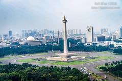 National Monument of Jakarta (JoniMetal) Tags: city building architecture buildings indonesia landscape aerial jakarta monas kota nationalmonument gedung monumennasional cityscraper arsitektur kotajakarta