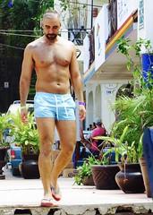 IMG_0853 (danimaniacs) Tags: shirtless man sexy guy beard mexico muscle muscular hunk puertovallarta stud scruff mansolo