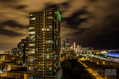 Thunder-16 (L-Imaging) Tags: sunset sky chicago weather buildings cloudy niko lightening thunder sinset weath chicagocity ligthining limaging