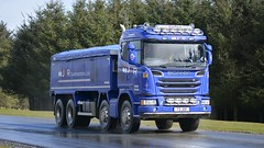 Y3 JKR (panmanstan) Tags: truck wagon scotland tipper transport lorry commercial vehicle scania bulk g450 ardlethen
