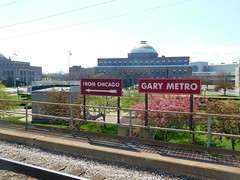 Gary Metro Center Station (Roadgeek Adam) Tags: nictd garymetrocenter