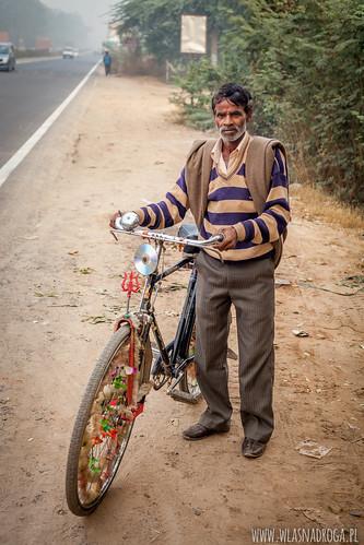 Hinduski rowerzysta