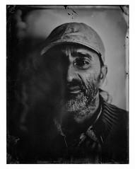 Wet Plate (mkc609) Tags: portrait blackandwhite bw blackwhite tintype wetplate 4x5