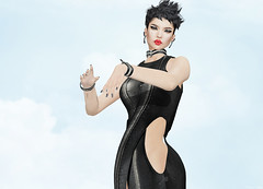 Elegance Boutique - Diva (Rehana MiSS SLVietnam, Face of CHOP ZUEY 2015) Tags: fashion ink cosmopolitan secondlife laboheme rehana maitreya slink eleganceboutique posesion chopzuey rehanaseljan