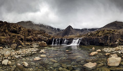 Fairy Pools # 1 (Katybun of Beverley) Tags: pool landscape scotland waterfall highlands scenery rocks isleofskye scenic westhighlands glenbrittle fairypools