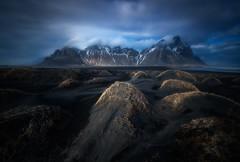 Eternal mountains (ALFONSO1979 ) Tags: longexposure travel clouds landscape island iceland rocks hofn nikon1424 nikond800e
