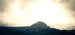 Mount Garfield,  Book Cliff Mountains (Carolannie...sorta here and there) Tags: lightroom splittone coloradoplateau lightroompresets april2016 sonyrx100m2 mtgarfieldco bookcliffsco bookcliffrangeco
