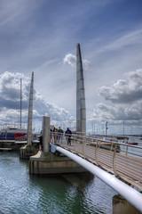 the crossing IV | torquay (John FotoHouse) Tags: bridge color colour architecture marina seaside flickr fuji torquay hdr torbay 2016 dolan photomatix leedsflickrgroup copyrightjdolan fujifilmx100s