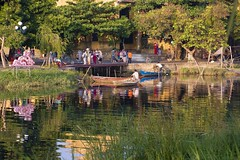 Hoi An Ancents Town (suesuekhoo) Tags: reflections landscape boats photography nikon outdoor photographers vietnam rivers danang photooftheday ancienttown hoianancienttown suesuekhoo