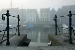 2009_IMG_4159 (niek haak) Tags: mist fog middelburg kinderdijk canalhouses grachtenpanden