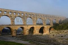 40080186 (wolfgangkaehler) Tags: bridge france water french europe european roman bridges unescoworldheritagesite aqueduct nimes pontdugard aqueducts southernfrance 2016 1stcenturyad gardonriver garddepartment