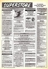 Match Magazine - 23/05/1987 - Page 32 (The Sky Strikers) Tags: birthday club computer magazine ads happy town hilarious northampton shepherd daniel books games jokes match merch tat c64 videos vhs superstore