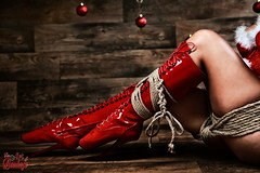 Christmas Babe - Fine Art of Bondage (Model-Space) Tags: christmas xmas girls red ballet woman sexy art girl beauty fashion fetish germany weihnachten nude bayern photography photo artwork glamour women nudes erotic highheels fotografie fineart erotica bondage babe rope lingerie bdsm topless heels ropes tied tiedup ulm fotoshooting balletheels shibari neuulm ropebondage kinbaku ropeart artbondage artofbondage rodmeier fotografulm ropebunny fineartofbondage